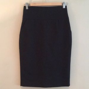 Guess by Marciano High Waisted Pencil Skirt